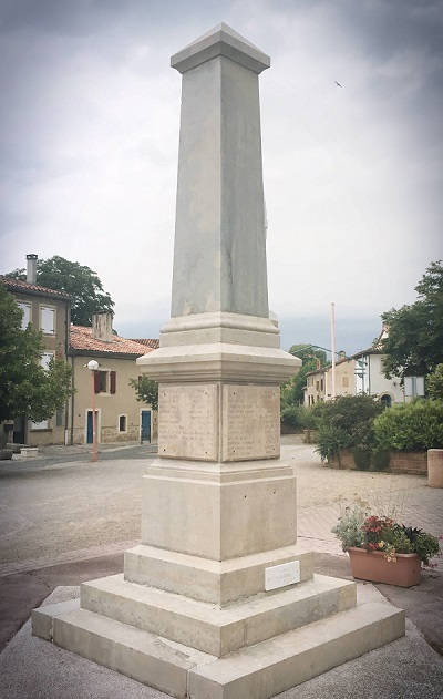 Monument aux morts Lombers